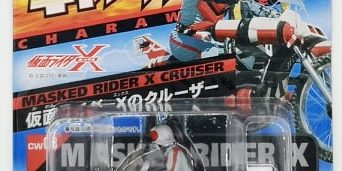 BANDAI CHARA WHEEL MASKED RIDER X CRUISER – ขายของเล่น หุ่น