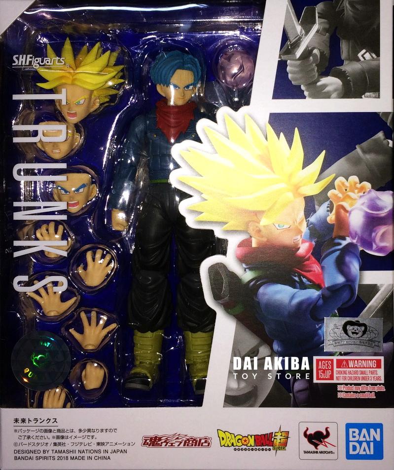 "Bandai S.H Figuarts Dragonball Super Future Trunks 6/"" Action Figure In Stock"